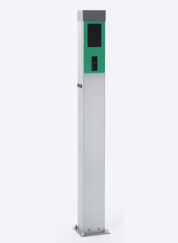【中古商品】個別車室管理ポールスタンド CO200【サニカ】